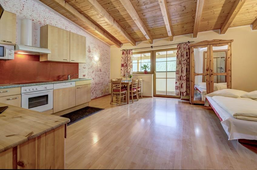 Jaga Alm Küche Appartement Sonnalm  60m²60m²
