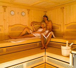 Sauna im Berghotel Jaga-Alm