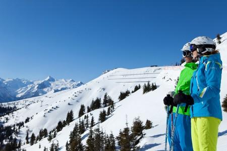 Skifahren auf der Schmitten Zell am See