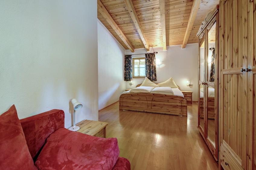 Jaga Alm Appartement Sonnalm 60m²Schlafzimmer
