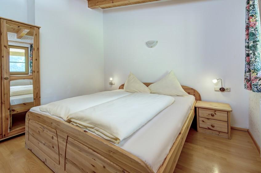 Jaga Alm Appartement Sonnalm 40 m² Schlafzimmer
