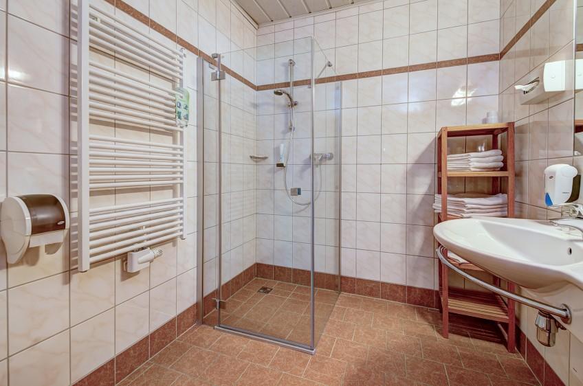 Jaga Alm Doppelzimmer Sonnberg Bad