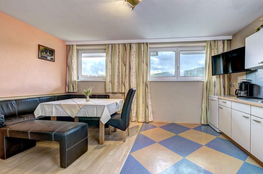 Jaga Alm Küche Appartement Landhaus