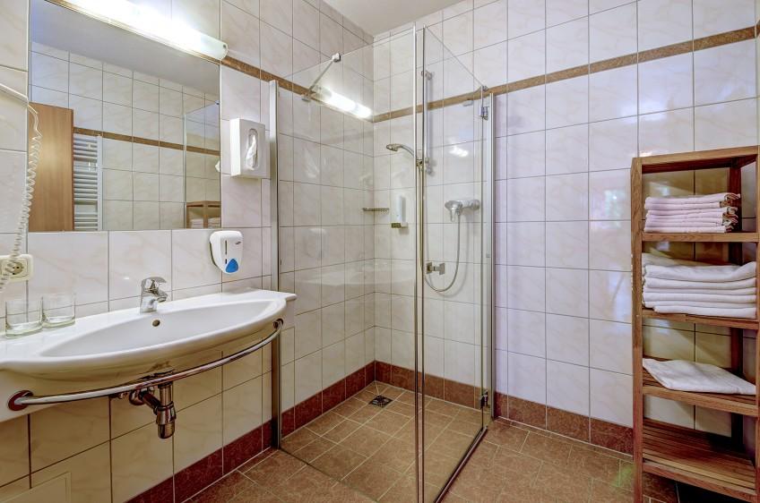 Jaga Alm Appartement Sonnalm 60m² Badezimmer