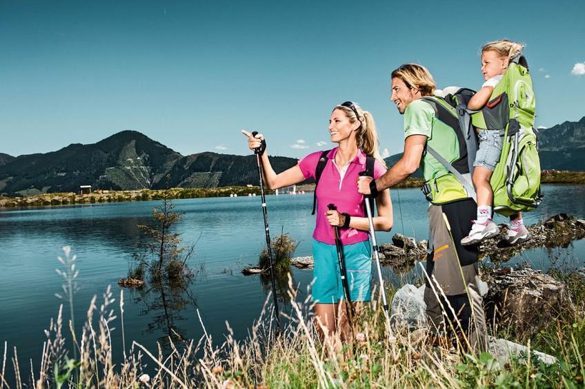 Familienwanderung Schmitten Zell am See