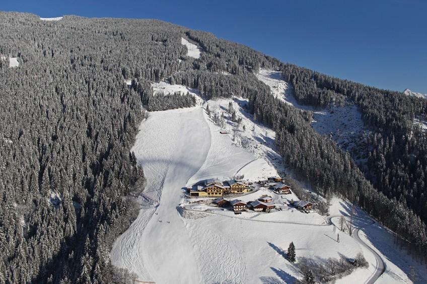 Berghotel Jaga-Alm im Winter